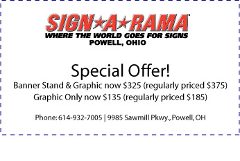 Banner Stand Sale